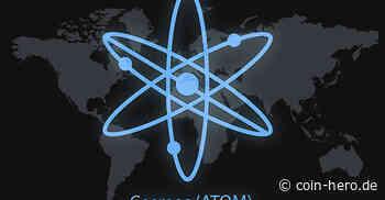 Cosmos (ATOM) schlägt Widerstand um 8,50 US-Dollar - Coin-Hero