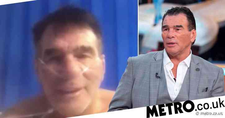 Paddy Doherty warns coronavirus is 'no joke' in breathless update from hospital