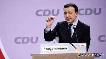Ziemiak: Grüne müssten in Koalition mit der CDU viele Kröten schlucken