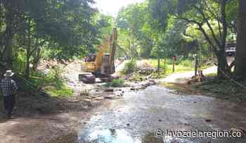 Obras de mitigación en Suaza para prevenir emergencias - Noticias