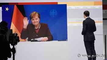 Digitaler CDU-Parteitag begonnen: Söder gibt eine unpassende Antwort