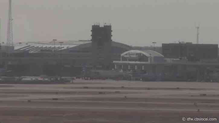 45 MPH Winds Force Ground Stop At DFW Airport, Arrivals 2 Hours Behind