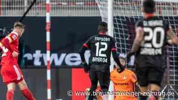 16. Spieltag: Spätes Gegentor: Auch Leverkusen verliert bei Union