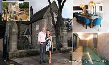 From graveyard cottage to £4.2million VERY Grand Design
