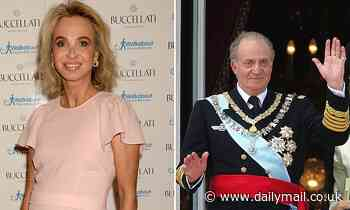 Ex-lover of former Spanish king claims spy chief 'hinted she would die like Princess Diana'