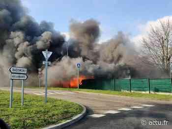 Yvelines. Aubergenville : le local de l'association portugaise entièrement détruit par un incendie - actu.fr