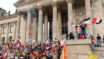Nach Sturm auf den Reichstag laufen 34 Ermittlungsverfahren gegen 40 Verdächtige