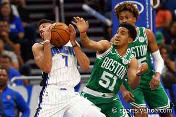 Theis, Brown, Ojeleye, Green upgraded to available vs. Magic