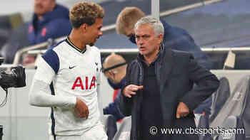 Jose Mourinho refuses to address Dele Alli's Tottenham future as Paris Saint-Germain target Spurs star