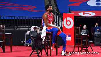 Sixers injury update: Joel Embiid (right knee pain) won't play in upcoming road back-to-back