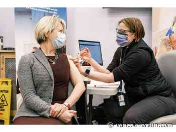 COVID-19: Pfizer vaccine production delay will slow first-phase of B.C. immunization plan