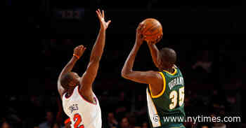 Harden Reunites With Durant, Very Far from the Hearts of SuperSonics Fans
