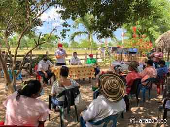 En Chimá hicieron entrega de herramientas a productores agrícolas - LA RAZÓN.CO