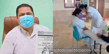 Vacunan a los dos primeros choapenses contra COVID-19 - El Heraldo de Coatzacoalcos