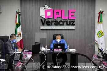 Medidas sanitarias en examen del OPLE - El Heraldo de Coatzacoalcos