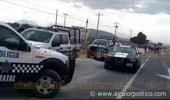 Ejidatarios de Tenextepec bloquean la Perote-Zacatepec; denuncian tala ilegal en faldas del Cofre - alcalorpolitico