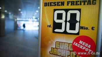 Neuer deutscher Lottorekord: Eurojackpot mit 90 Millionen geht nach NRW
