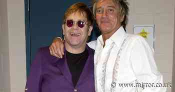 Sir Rod Stewart and Sir Elton John rebuild friendship to end three-year feud