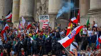 Angriff auf Reichstag: 40 mutmaßliche Randalierer bislang ermittelt