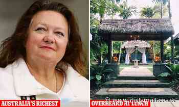 Mining billionaire Gina Rinehart discussed how BMW sent to her Italian residence