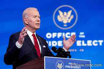 Covid updates: Biden to jumpstart federal vaccine push; UK strain could be dominant in U.S. by March - CNBC