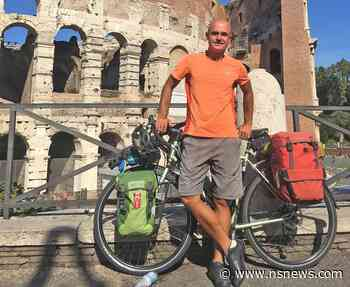 North Vancouver man sets Guinness record after cycling to 24 European capitals - North Shore News