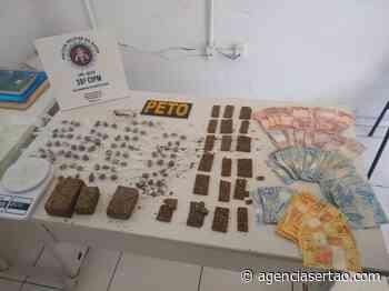 Suspeitos de tráfico de drogas são presos em Bom Jesus da Lapa - Agência Sertão