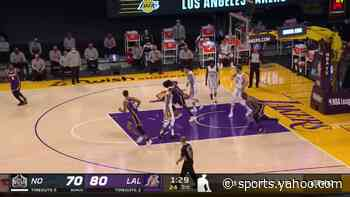 Top dunks from Los Angeles Lakers vs. New Orleans Pelicans