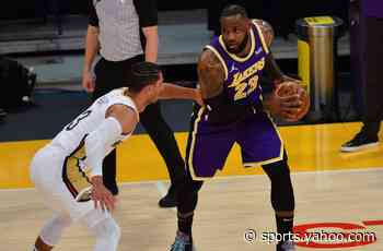 Lakers-Pelicans recap: LeBron James shows MVP form again in 5th straight win