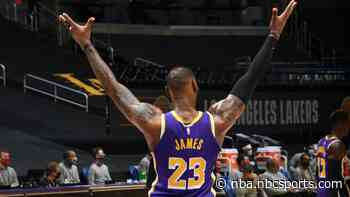Watch LeBron James' thunderous putback dunk; Lakers cruise to win over Pelicans