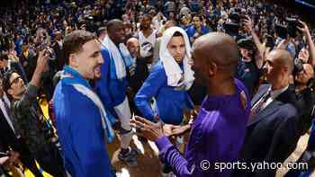 Klay Thompson honors Kobe five years after last road game vs. Warriors