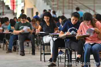 Becas Carlos Antonio López: 4.479 postulantes rindan mañana el examen de competencias básicas - ADN Digital