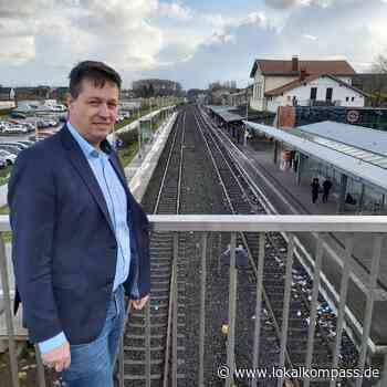 Stephan Haupt wünscht sich den Ausbau im Kreis Kleve: Bald barrierefreie Bahnhöfe? - Lokalkompass.de
