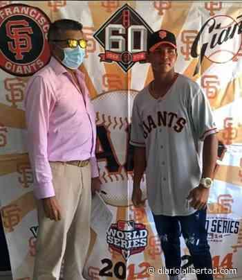 De Repelón para la MLB: Ángel Polo firmó contrato con Gigantes de San Francisco - Diario La Libertad