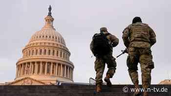 Für Bidens Amtseinführung: Mehr Nationalgardisten in Washington