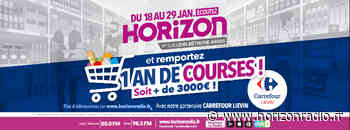 HORIZON et CARREFOUR LIEVIN vous offrent un an de courses - Horizon Radio