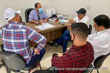 Presidente Laerte Gomes visita prefeito de Ouro Preto do Oeste, Alex Testoni - Rondônia Dinâmica