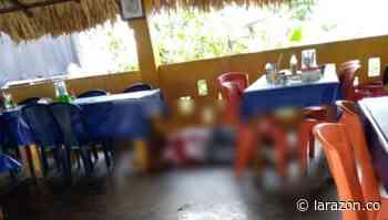Asesinan a hombre en restaurante de zona rural de La Apartada - LA RAZÓN.CO
