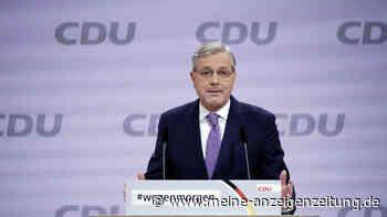 """CDU-Vorsitz: Röttgen positioniert sich in einer Frage klar - und spricht von """"überraschender"""" Kandidatur"""
