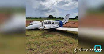 Vídeo  Avião de pequeno porte faz pouso forçado em Canarana - O Livre