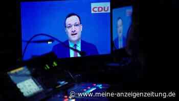 CDU-Parteitag: In Fragerunde kommt es sofort zur Panne - dann sorgt Spahn mit Werbeeinlage für Ärger