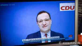 CDU-Parteitag: Spahn nutzt Fragerunde für Laschet-Werbung