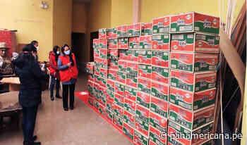 Cerro de Pasco: encuentran más de 450 panetones guardados en un auditorio municipal   Panamericana TV - Panamericana Televisión
