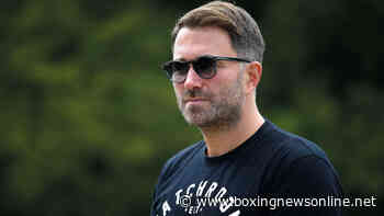 Eddie Hearn: 'We need to keep the story going'