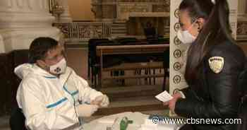 Italians pay it forward by collecting donations for COVID tests