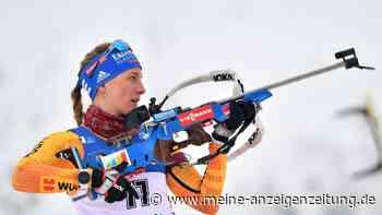 Biathlon in Oberhof jetzt im Liveticker: Vanessa Hinz beginnt für die deutsche Damen-Staffel