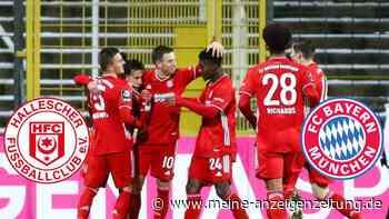 LIVE: Zaiser mit Doppelpack - Bayern führt klar gegen Halle
