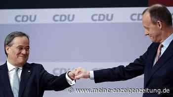 Neuer CDU-Chef: Laschet setzte mit Aktion am Ende der Rede alles auf eine Karte - und gibt jetzt Merz Versprechen