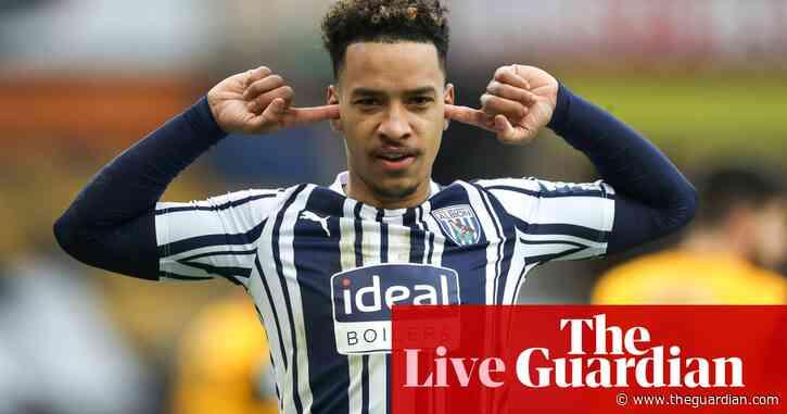 Wolves 2-3 West Brom: Premier League – live!