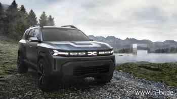 Studie Bigster Concept: Dacia bringt ein Mittelklasse-SUV